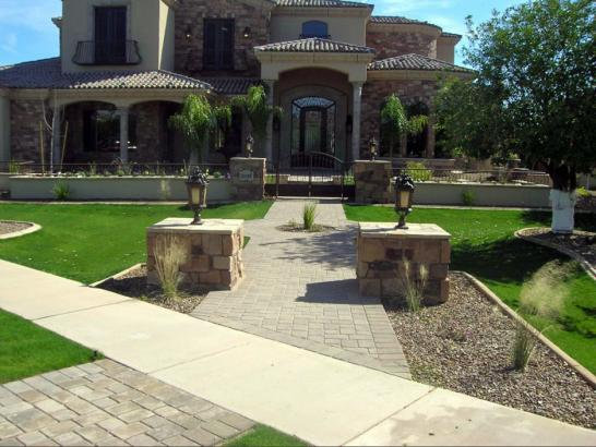 Fake Grass Hiddenite North Carolina Lawn  Front Yard artificial grass