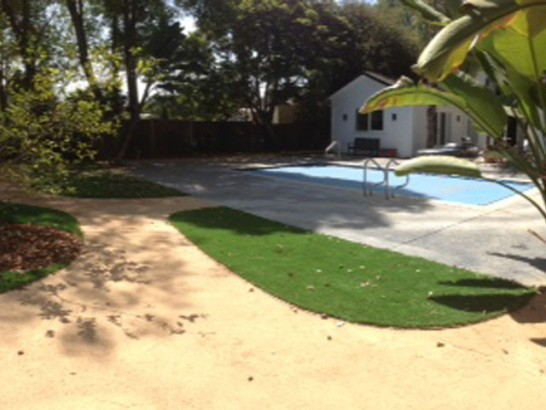 Fake Lawn West Marion, North Carolina Paver Patio, Backyard Landscape Ideas artificial grass