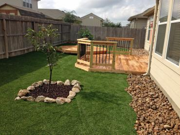 Fake Turf Riverview South Carolina Lawn  Back Yard artificial grass