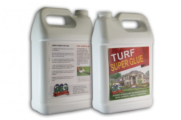 Turf Super Glue artificial grass installation