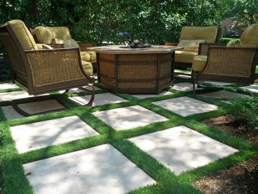 Synthetic Grass Catawba South Carolina Lawn  Pavers Back artificial grass