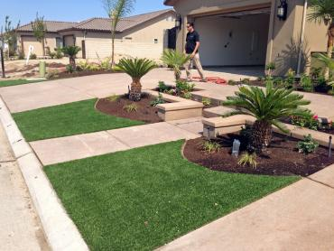 Synthetic Turf South Gastonia North Carolina Lawn  Front artificial grass