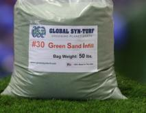 Green Sand Fake Grass