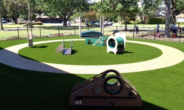 Artificial Grass for Playgrounds in Charlotte